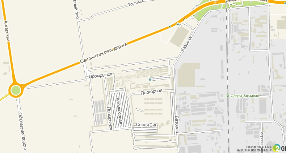 Карта промрынка 7км